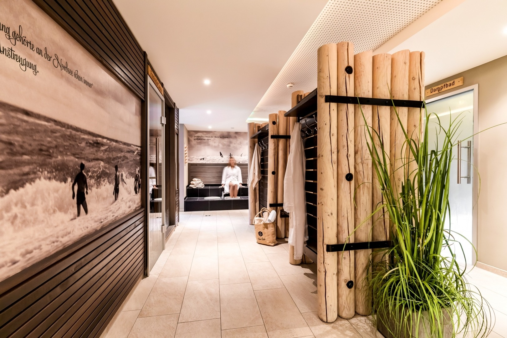 Spa Wellness In St Peter Ording Strandhotel Zweite Heimat