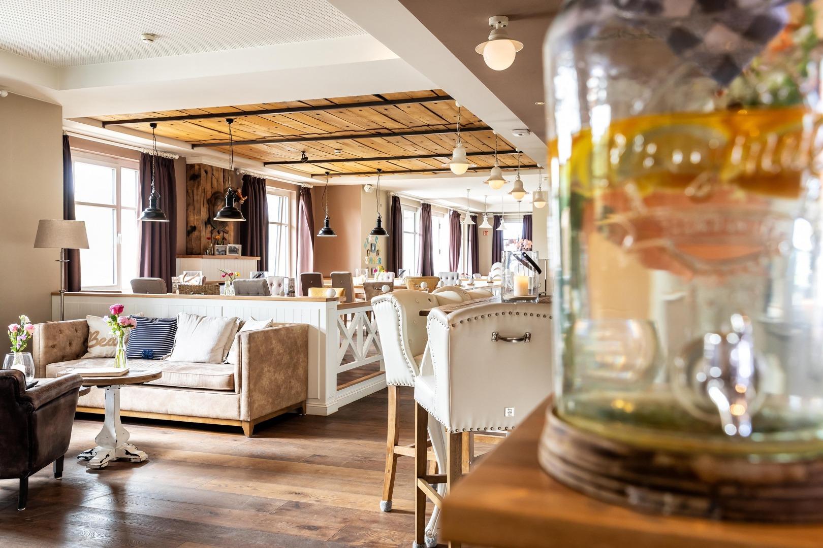 Gastronomie | Restaurant Esszimmer | Strandhotel Zweite Heimat